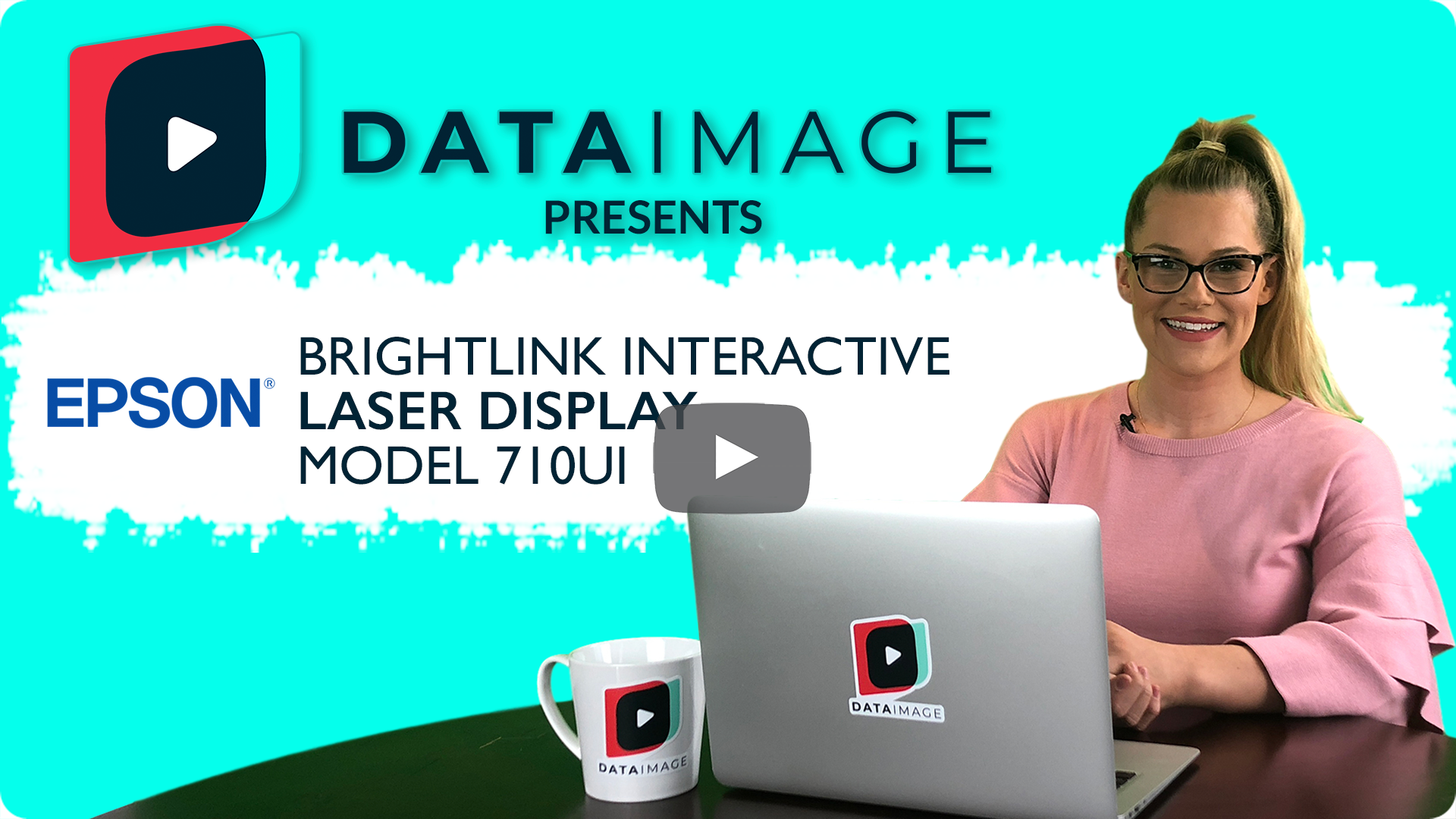 Epson Brightlink Interactive Laser Display 710Ui Video Cover