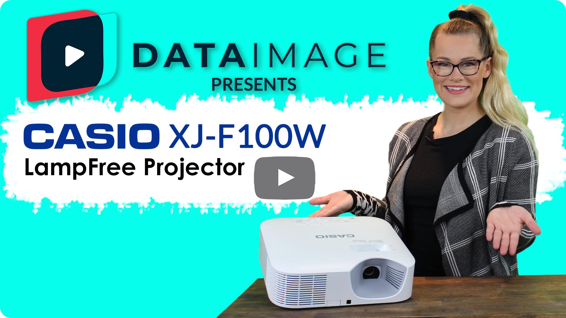 Casio XJ-F100W Video Cover
